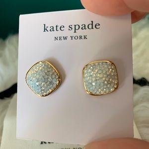 ♠️ Kate Spade Square Studs  ♠️